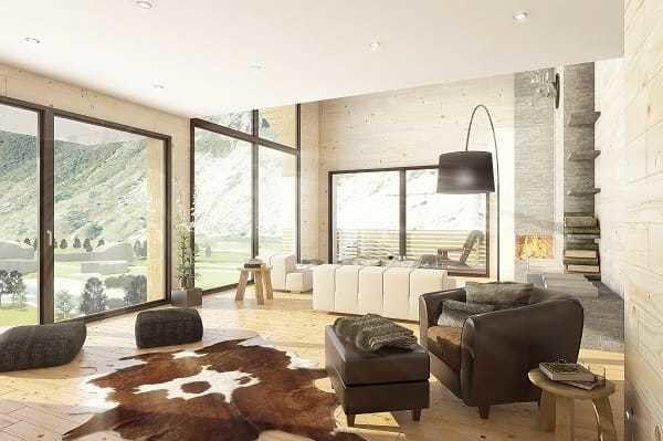 Duplex in Andermatt, Switzerland