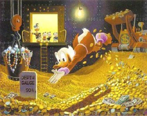 Scrooge McDuck Money Bin