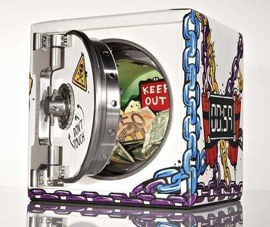 Dottling and Year Zero London Pop Art Safe