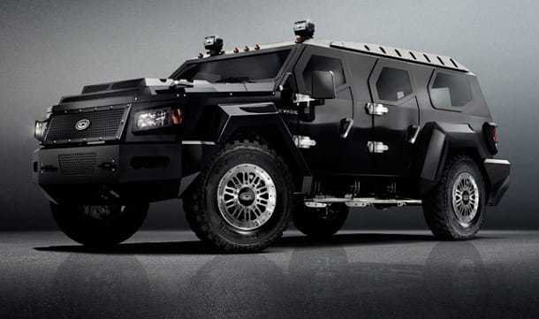 Evade Unarmored SUV by Conquest Vehicles