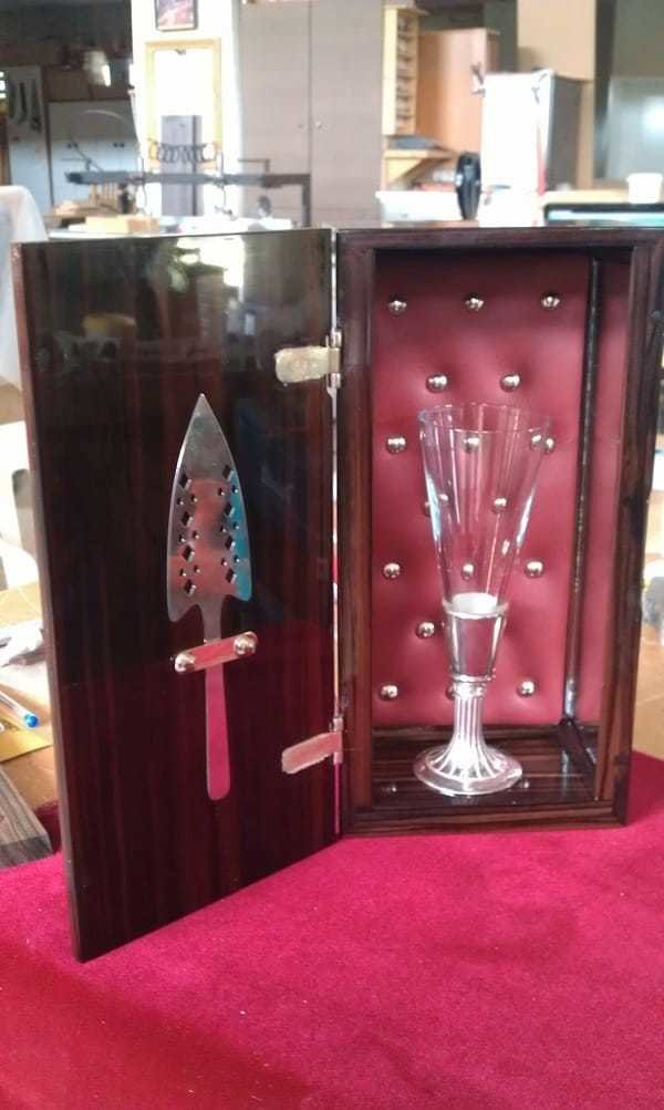 Hermes & Zeus Absinthe Box and Spoon Set