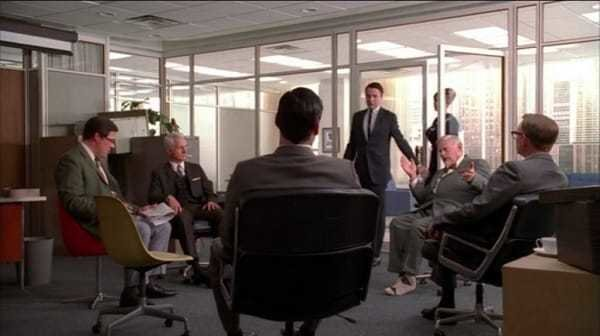 Eames Chairs featured in Mad Men