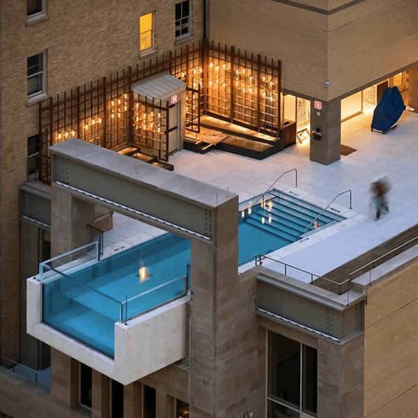 Rooftop Pool Joule Hotel Dallas