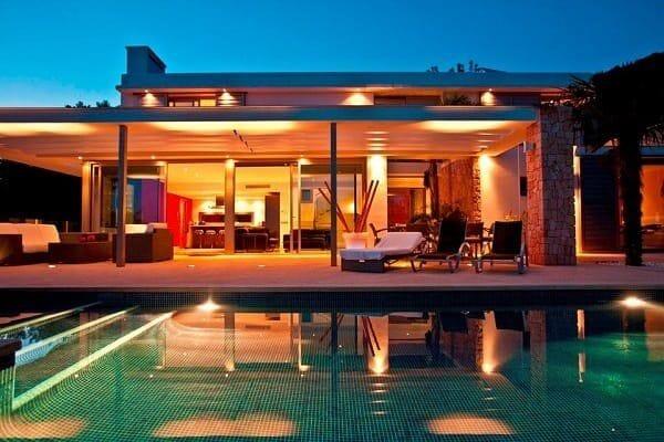 Luxury villa in Ibiza, Spain