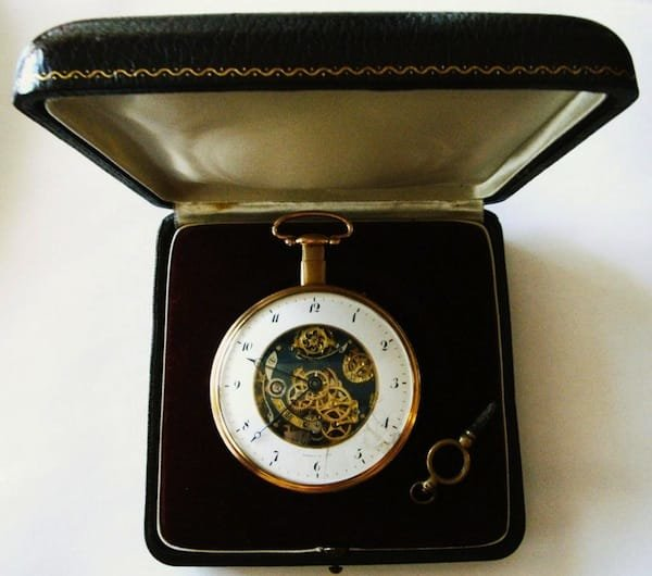 Breguet & Fils Repeater Skeleton Pocket Watch 2