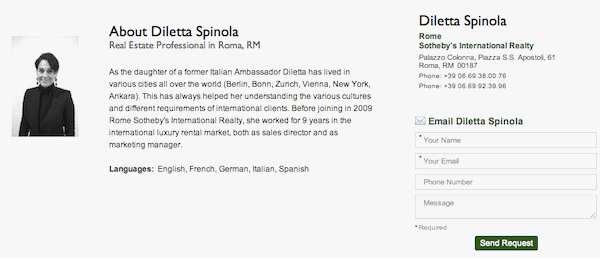 Diletta Spinola Sotheby's Realty