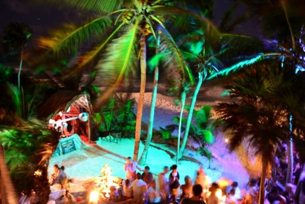 Riviera Maya Film Festival after-party at Papaya Playa Project