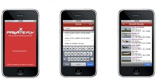 jet charter iphone app