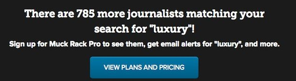 muckrack luxury journalists