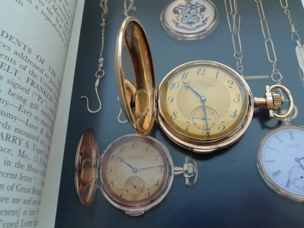 FDR's 18K Gold Repeater Pocket Watch Hits The Market Book