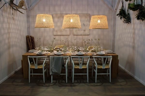 Dinner x Design tablescape at IDSwest Vancouver