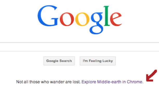 google homepage advertising