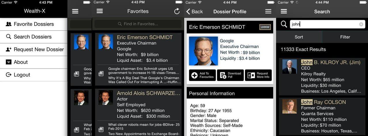 WealthX App Major