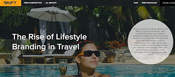skift trend report lifestyle branding