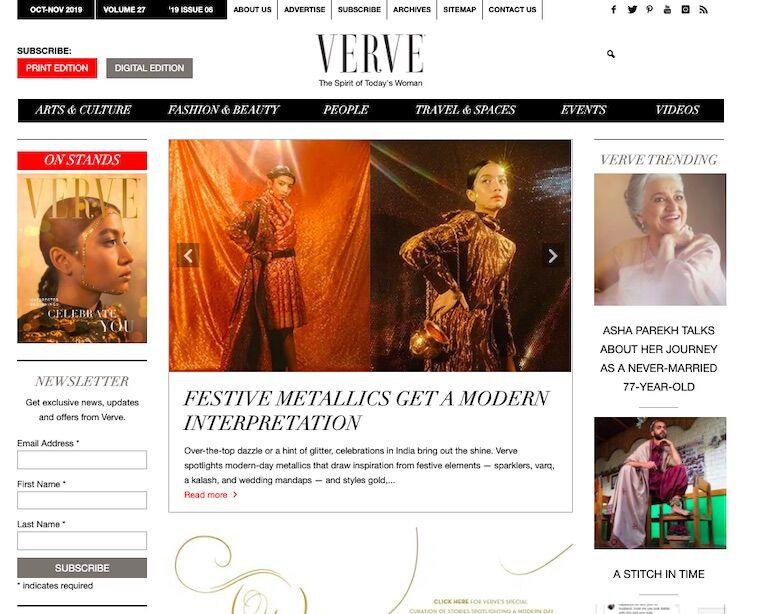 luxury lifestyle magazine india