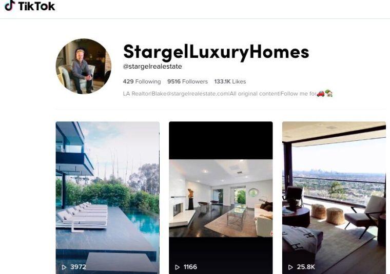 tiktok real estate marketing