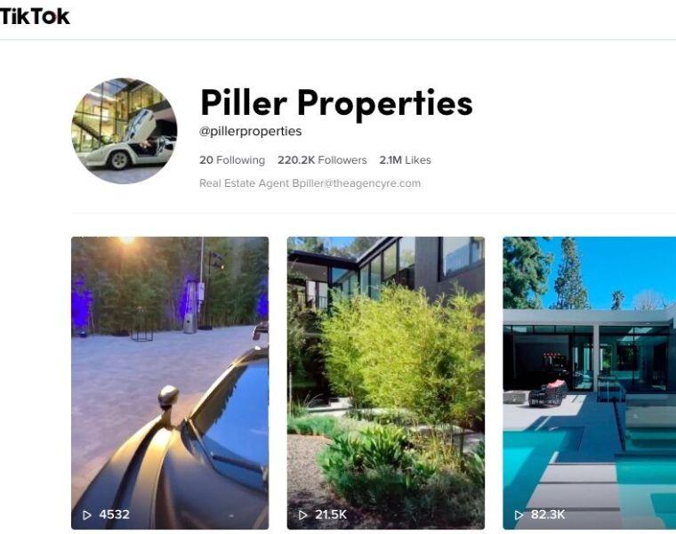 tiktok luxury real estate marketing
