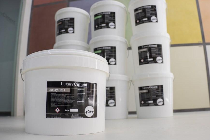 Microcemento Fino Luxury Ciment para paredes