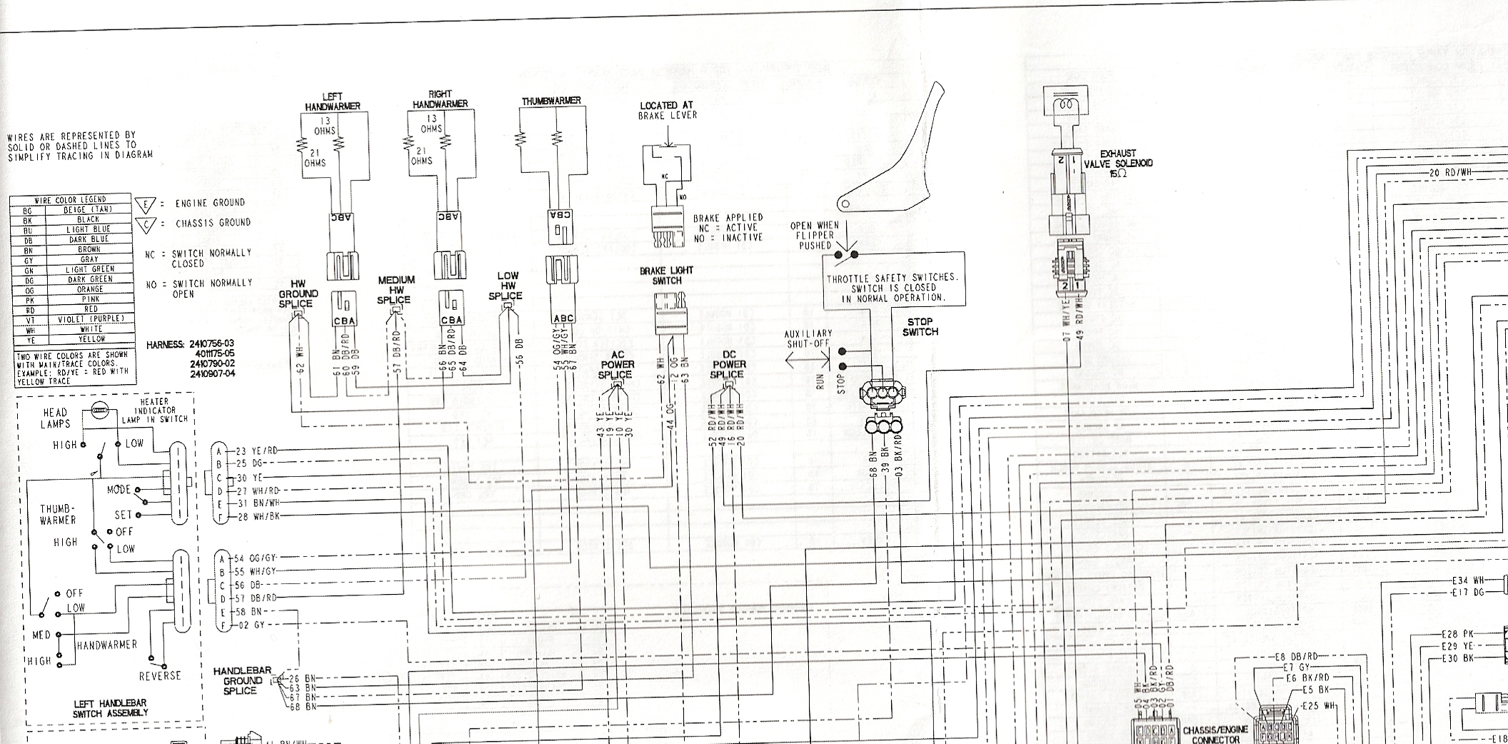 2009 polaris dragon 800 wiring diagram