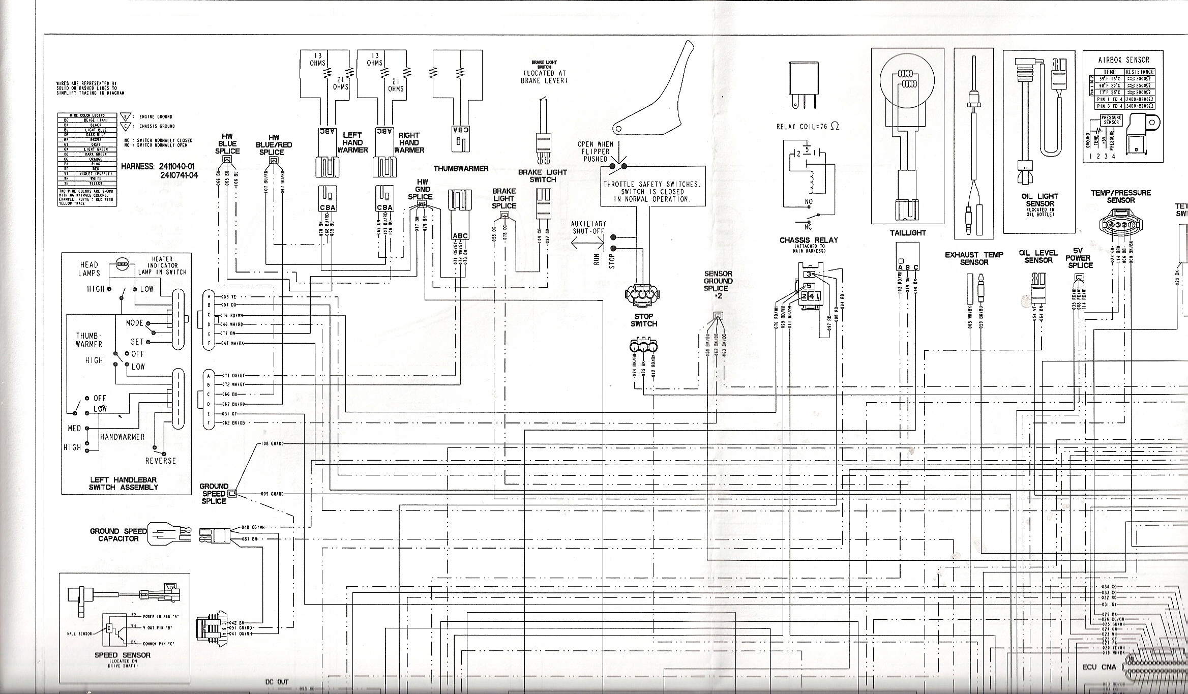 Polaris Xcsp 600 Wiring Diagram