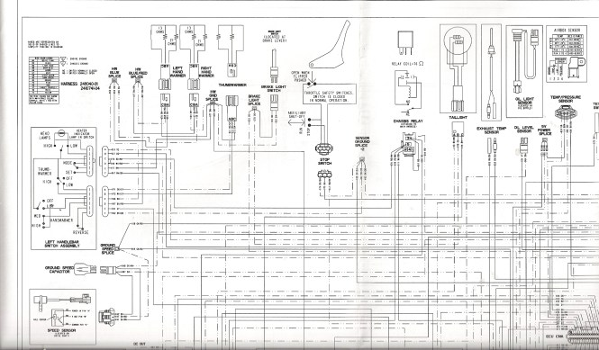 polaris sportsman 90 wiring schematic wiring diagram polaris 90 atv wiring diagram a