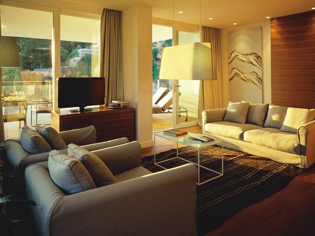 Royal Living Room Interior