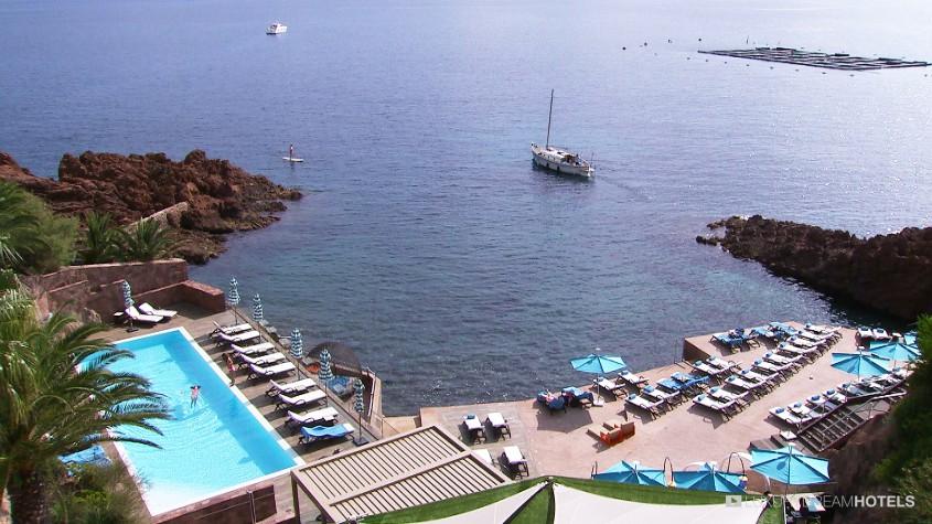 Luxury Hotel Tiara Miramar Beach Hotel Spa Theoule Sur