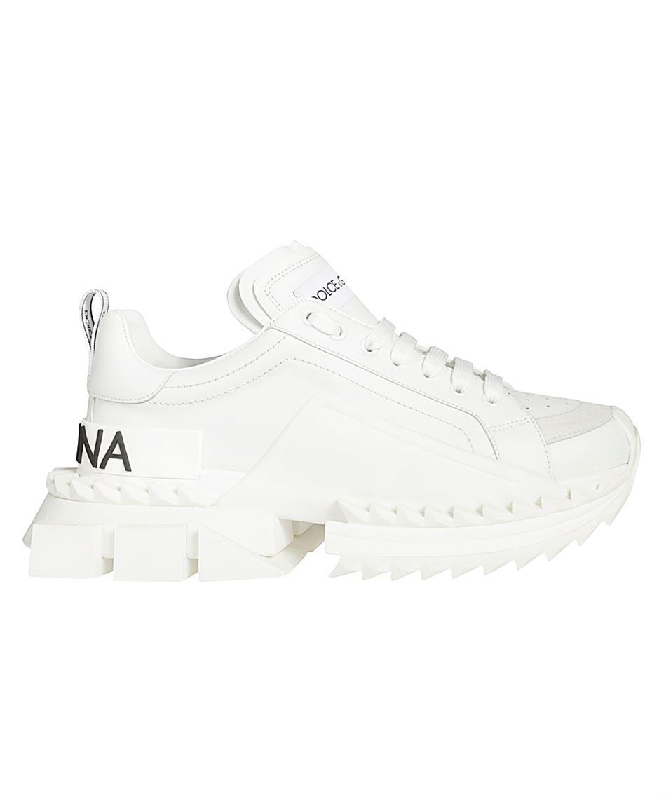 Dolce & Gabbana CS1649 AZ672 Sneakers in nappa calfskin White
