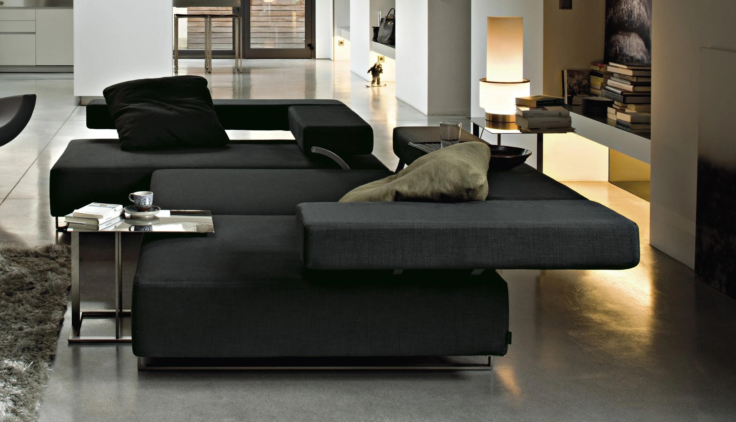 The modular sofa Loft Arketipo  Luxury furniture MR