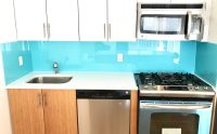 Tempered Glass Kitchen Backsplash  Give Your Kitchen a ...