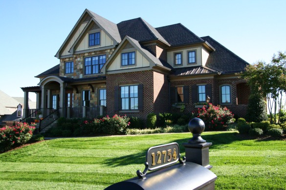 Knoxville Mountain View Luxury Home in Farragut's Bridgemore - Luxury Homes of Knoxville