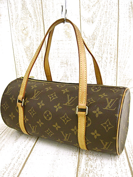 Louis Vuitton Monogram Canvas Papillon 26 Handbag - Luxurylana Boutique 1a39519ee8ad1