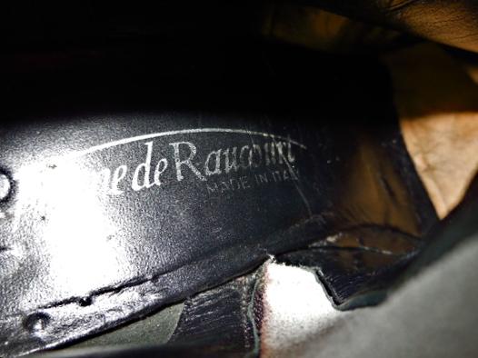 Stephanie De Raucourt Patent Leather Boots-5