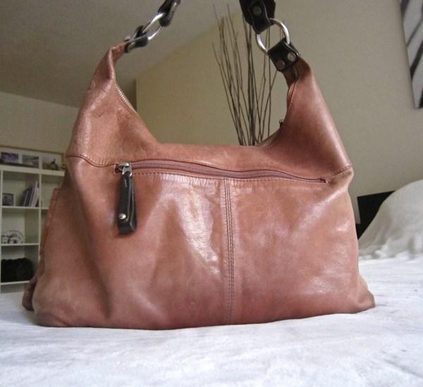 Tano Leather Hobo Bag-1