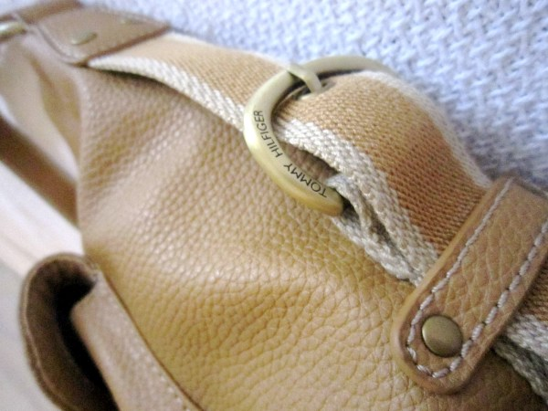 Tommy Hilfiger Mustard Leather Hobo Bag-3