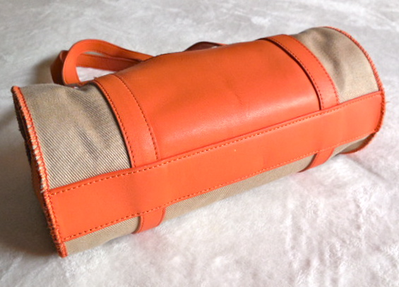 UGG Orange & Sand Papillon Handbag-1