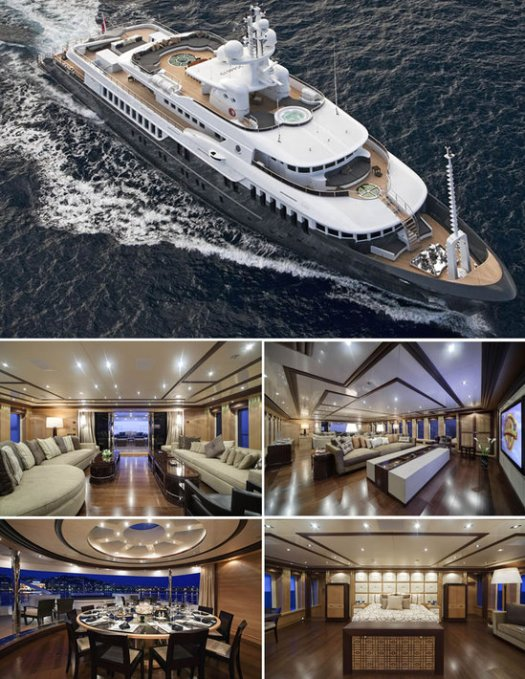 Russian President Medvedev picks up a $42 million superyacht