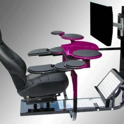 Cool Desk Chair Convert Office To Stool Vision One Computer Workstation Is The Most Luxurious