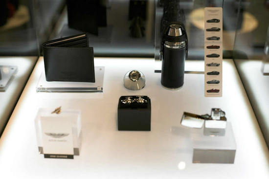 Aston Martin And Mclaren Merchandise Retail At Inside