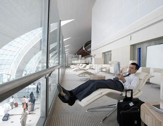 Most lavish airport lounges to pamper the top flyers