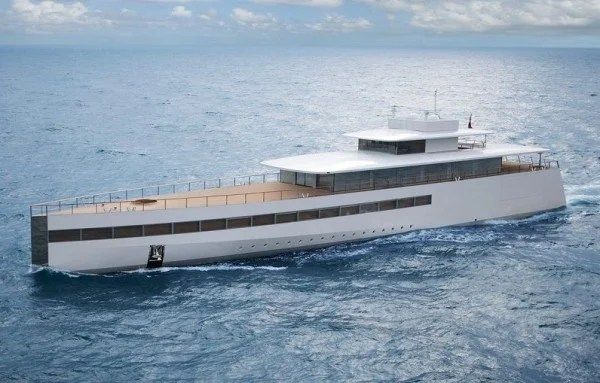 Venus Superyacht Designed For Steve Jobs Is Spotted In The