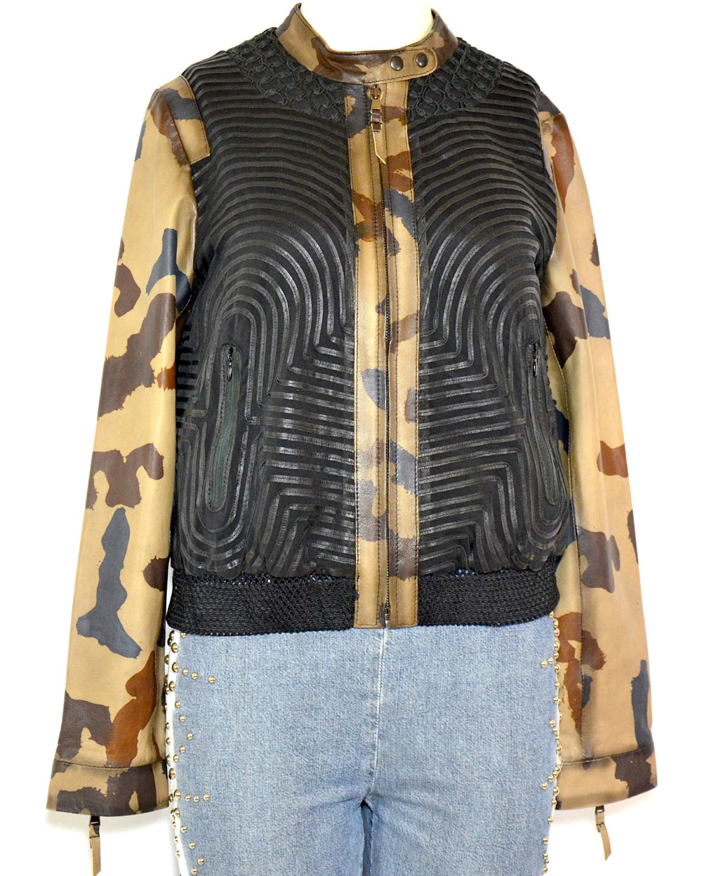 Leather Couture Und By Lederjacke Stoff Stretch Luxury Andrea Nicolotti D2HeWE9IY