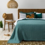 Athena 100 Stonewashed Cotton Bedspread