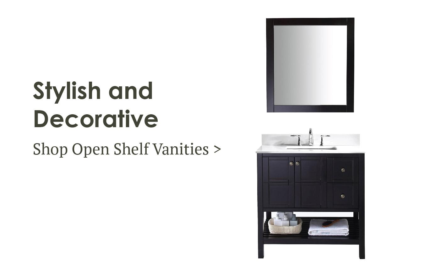 online store for bathroom vanities and