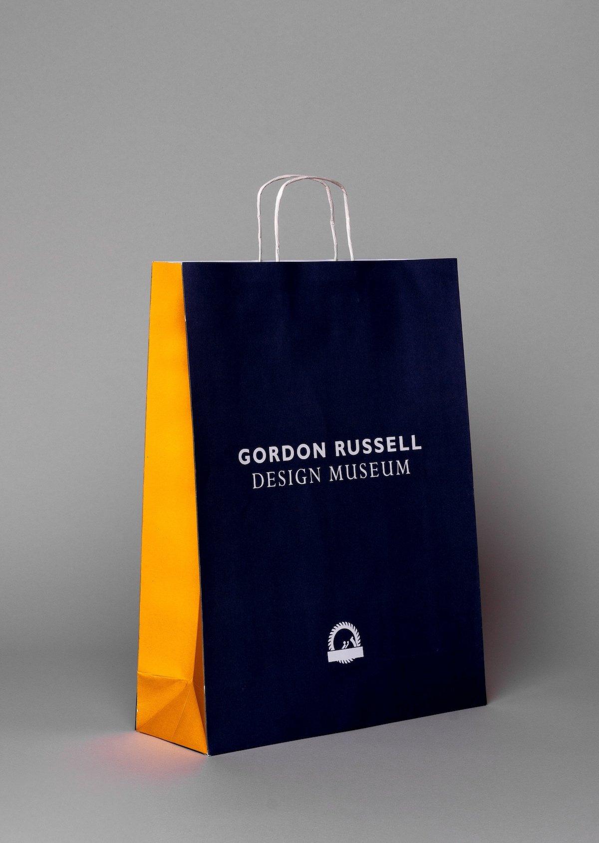 Gordon Russell Premium Kraft Paper Bag