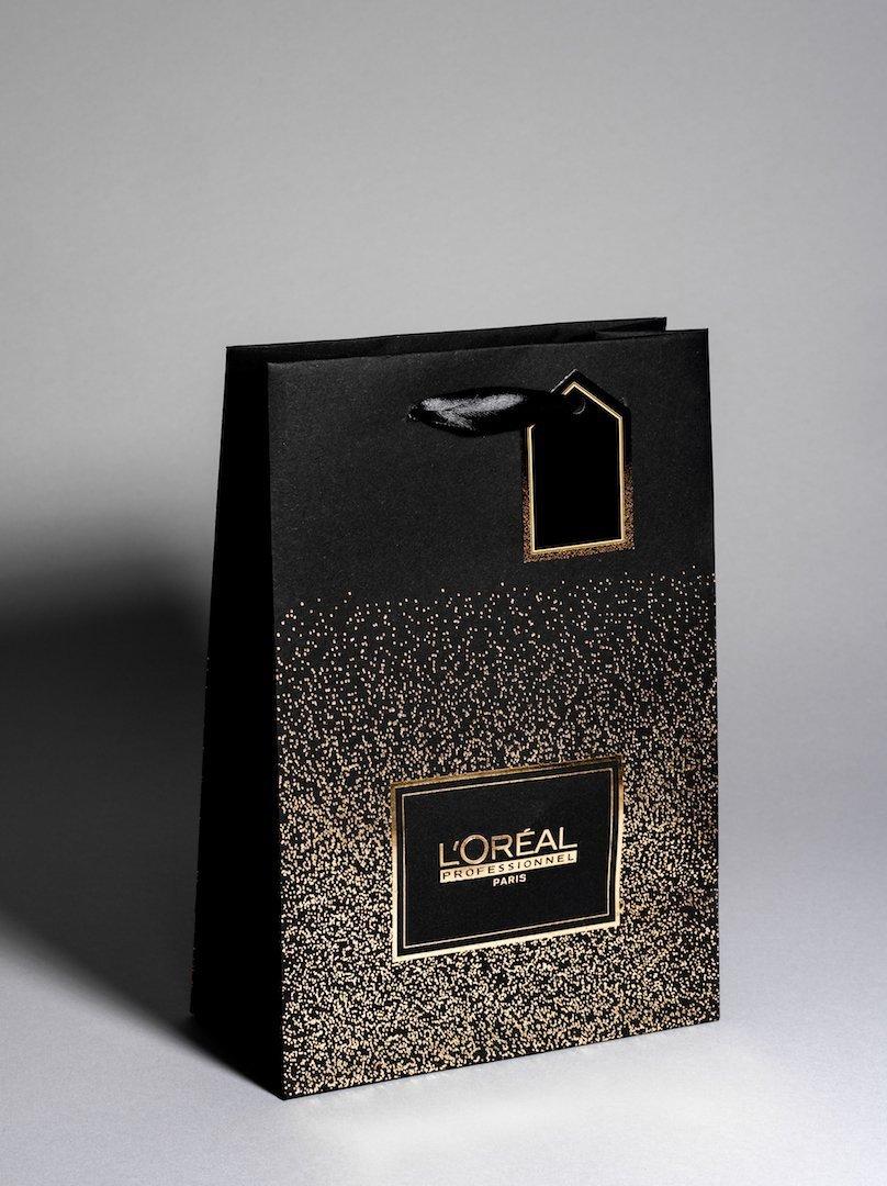 L'Oreal Unlaminated Paper Bag