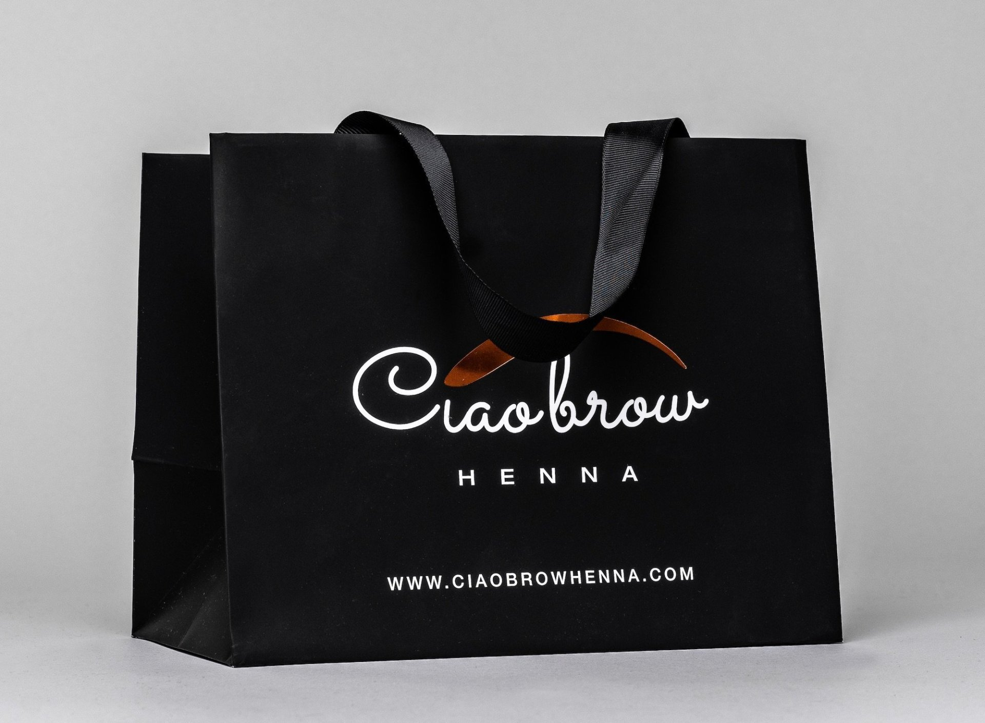 CIAOBROW HENNA LUXURY PAPER BAG