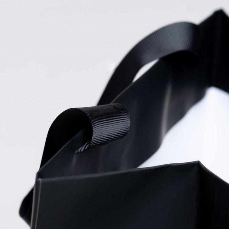 grosgrain ribbon paper bag