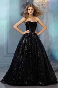 25 Glamorous Black Wedding Dresses  Luxury Pictures
