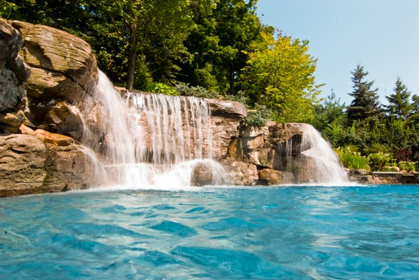 Luxury Inground Swimming Pools by Cipriano Landscape